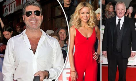 who is amanda holden married to simon cowell teases amanda holden about marriage to les