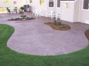Poured Concrete Patio Designs Patios Ideasgarden Patio Designs Gardening Australia
