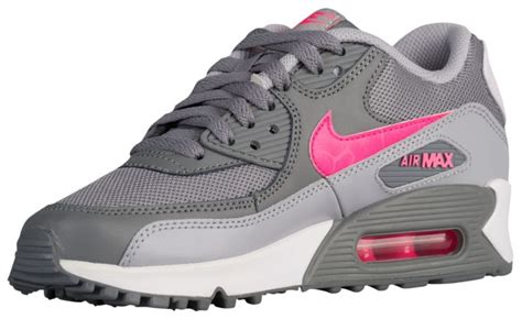 Air 4 Cool Grey Grade School by Exclusive Nike Air Max 90 Grade School Cool Grey Hyper Pink Wolf Grey White Running Shoes