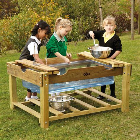 buy outdoor wooden water play unit tts