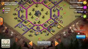 Base war terbaik dan terkuat town hall level 9 untuk war clan clash