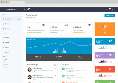 bootstrap templates for applications 30 bootstrap application themes templates free