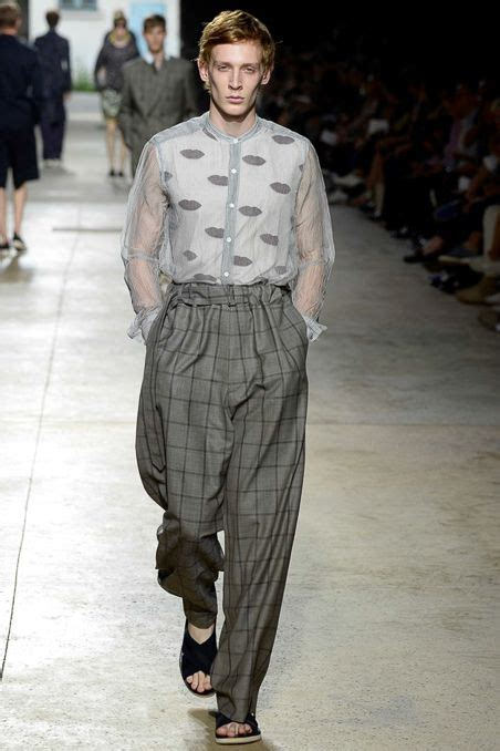 Menswear Chic At Dries Noten Gets A Twist By Wearing The Necktie Like A Harness Its A Snap To Capture The Spirit Without Breaking The Bank Fashiontribes Fashion by 17 Best Images About Mens 2016 On Acne Studios