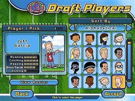 Backyard Soccer Pc by Backyard Football 2004 Screenshots Hooked Gamers