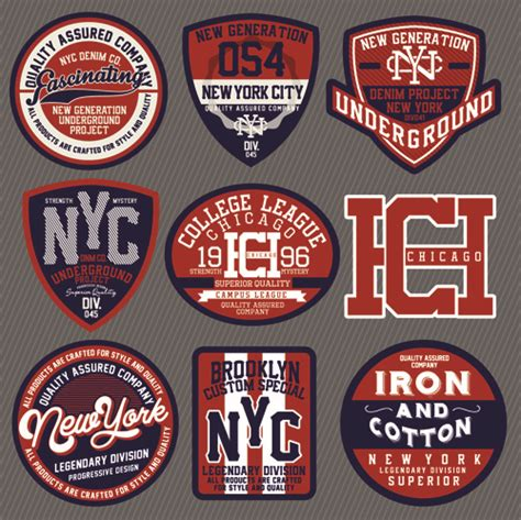 design t shirt labels vintage t shirt labels creative vector free vector in