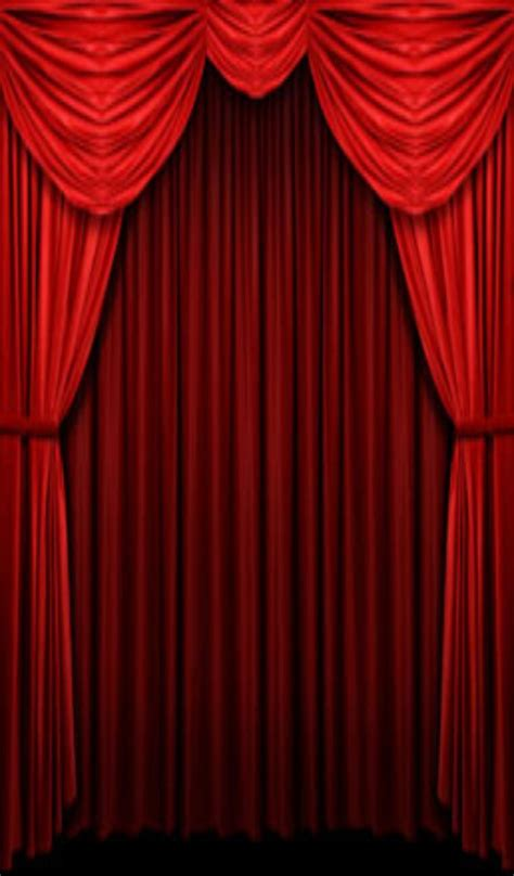 cinema drapes theater stage curtains