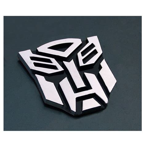 Auto Decals And Emblems by 3d Transformer Autobot Logo Emblem Badge Sticker Decal For