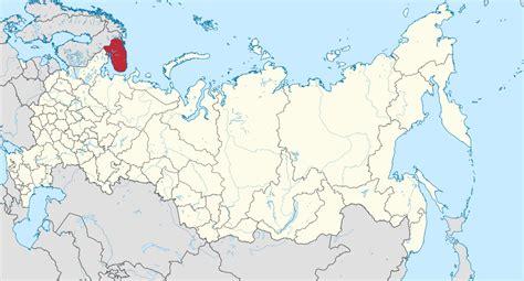 maps murmansk russia murmansk oblast
