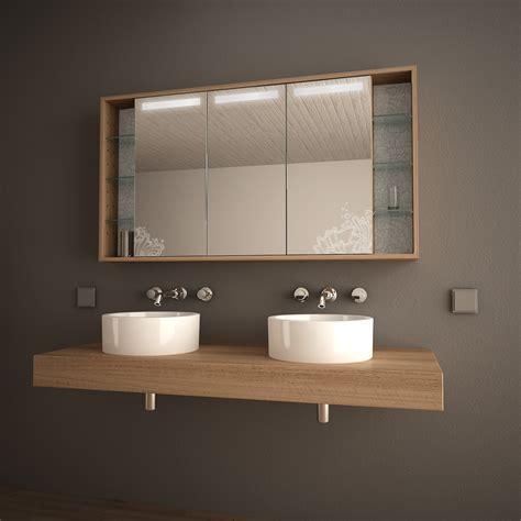bad spiegelschrank mit licht arida