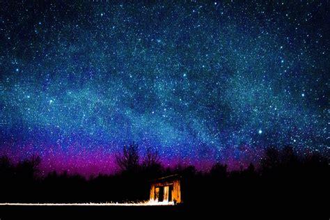 night sky   apostle islands  northern wisconsin