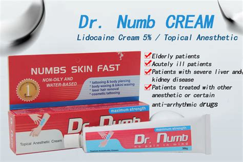 dr numb tattoo cream microblading supplies permanent makeup kit