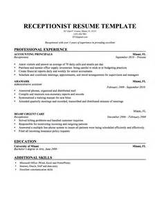 Salon Receptionist Sle Resume by Doc 12401754 Receptionist Resume Help Bizdoska