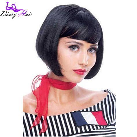short layered bob wigs for black women short bob lace wigs human hair for black women brazilian