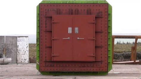 testi the doors mml blast door test 1