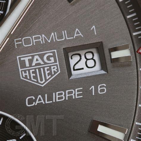 Tagheuer F1 Cal 16 新品 tag heuer タグ ホイヤー f1 cal 16 グレー ss 215 セラミック クロノグラフ 44mm