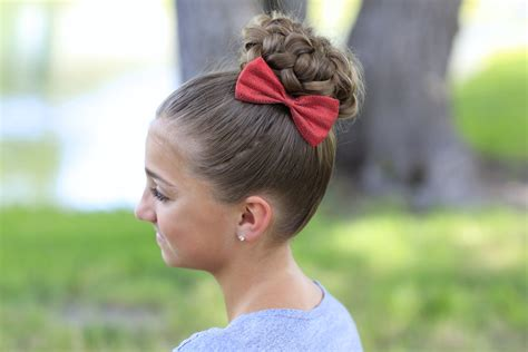 formal hair style for 5 year old pancaked bun of braids updo hairstyles cute girls