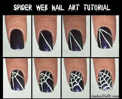 nimbus nail art tutorial 20 step by step halloween nail art design tutorials 2017