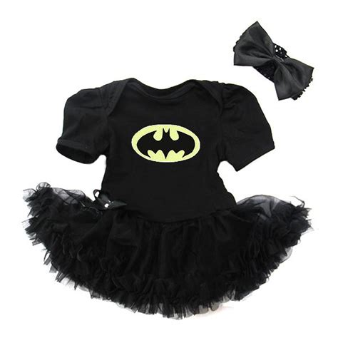 Batman batgirl baby newborn onesie bodysuit tutu outfits costumes