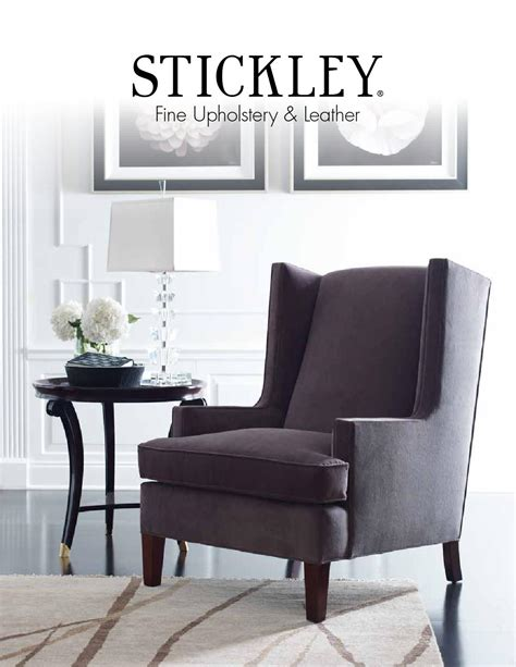 Stickley Upholstery by Issuu Upholstery Leather Catalog By Stickley By
