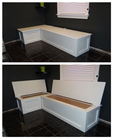 storage banquette kitchen banquette with storage home deco pinterest