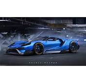 Rendering Liberty Walk Ford GT Concept  Motorward