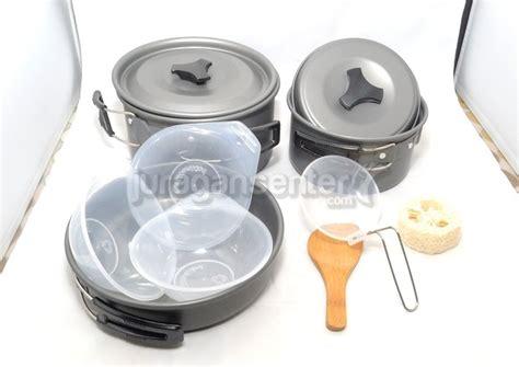 Nesting Cooking Set Panci Gunung Ds 200 cooking set 3 4 orang jual kompor lapangan gas hicook