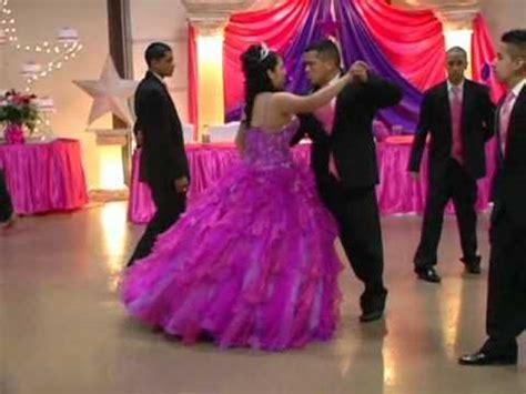 bailando el vals de quince a os quinceaneras waltz quinceanera de edith ordonez silva vals y baile sorpresa