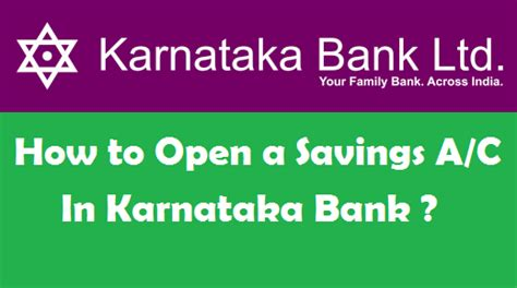 how to open a bank account in a foreign country how to open a savings account in karnataka bank