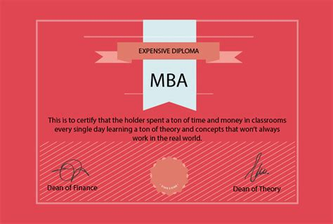 Why Do Get An Mba by 5 Reasons Why You Shouldn T Get An Mba L Clark