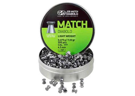 Wadcutter Pellets 177 Cal 500 Ct jsb match diabolo pellets 177 cal 7 33 grains