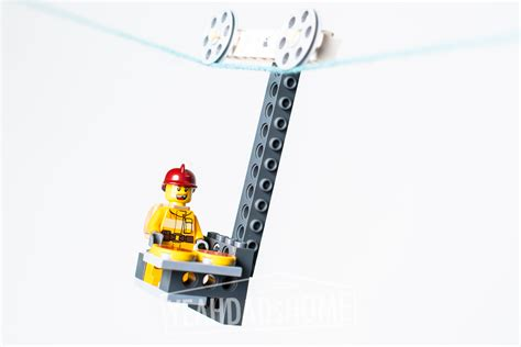 Lego zip lines yea dads home