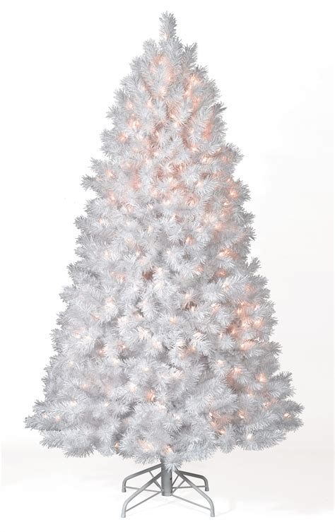10 ft shimmering white clear lit tree christmas tree market
