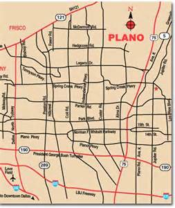 plano on map plano travel pal international