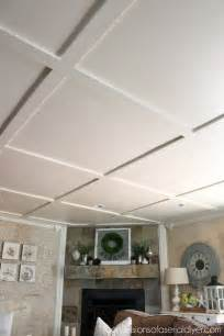 faux coffered ceiling confessions of a serial do it