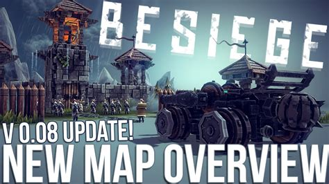 besiege free updated v0 09 besiege v 0 08 update overview new map island tolbrynd