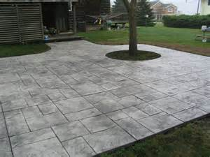 Cement Patio Design by Patios Design Concrete Corp