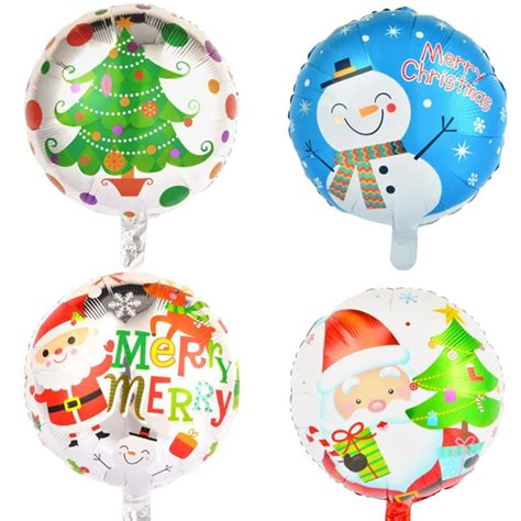 18 inch christmas foil balloons helium balloon inflatable