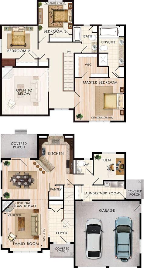 plans maison en   cranbrook floor plan