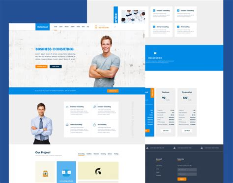 business consulting website templates free business consulting website template free psd at