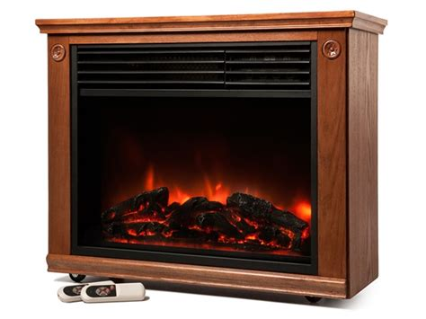 Lifesmart Fireplace by Lifesmart Infrared Fireplace 1 800 Sq Ft Heater