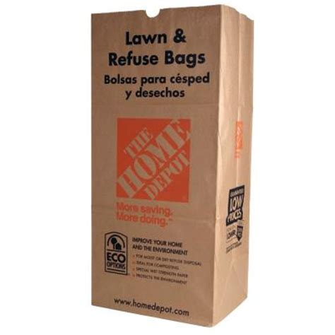 Kitchen Faucets Houston The Home Depot 30 Gal Paper Lawn And Refuse Bags 5 Count
