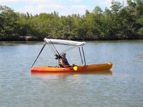 sailboat awning sunshade bimini top sun shade canopy for kayak kaboat canoe boat ebay