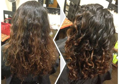 deva curl layers before after dry haircut for naturally curly hair