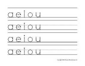 vowel letters worksheet boxfirepress