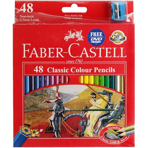 Jual Faber Castell Classic by Faber Castell Classic Coloured Pencils 48 Pack Ebay