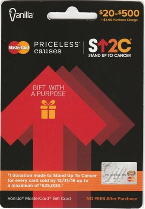 buy mastercard gift cards and stand up to cancer frequent miler - Buy Mastercard E Gift Card