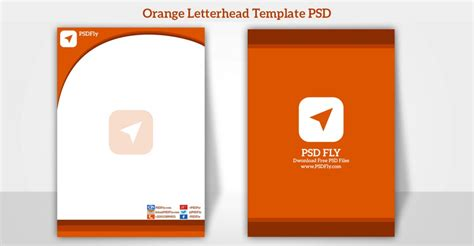 letterhead design software free 15 free vector psd company letter design template