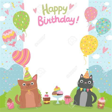 bday templates birthday card beautiful collections template for birthday