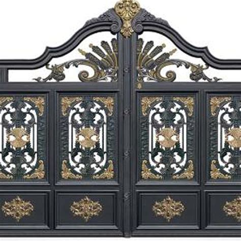 china steel entry doors wrought iron outdoor entry gates