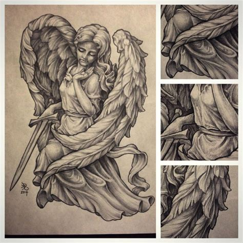 angel statues statue and drawings on pinterest